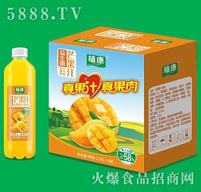 植康益生菌芒果汁1.25Lx6