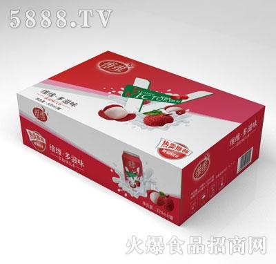 维维荔枝味汽水(箱)