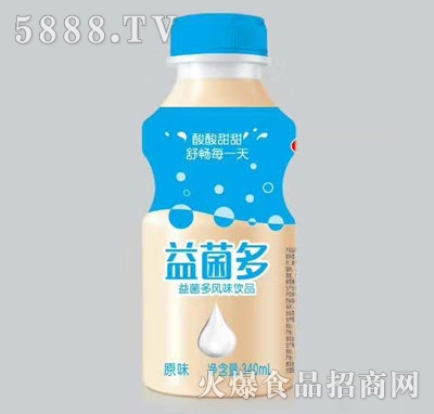 益菌多风味饮品原味340ml