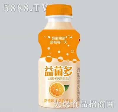 益菌多风味饮品甜橙味340ml