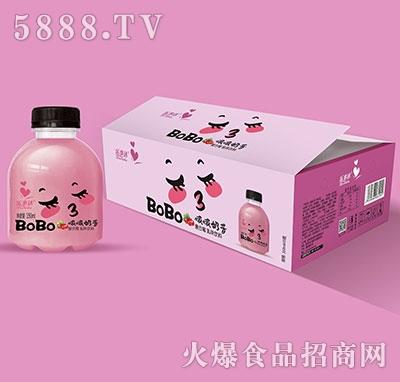 啵啵奶昔复合莓350mlx15