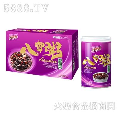 阿萨姆八宝粥紫薯黑米320g×12罐