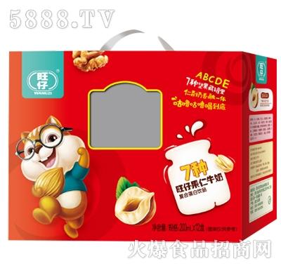 旺仔7种果仁牛奶复合蛋白饮品200ml×12盒
