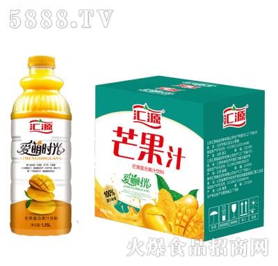 汇源芒果复合果汁饮料1.25LX6