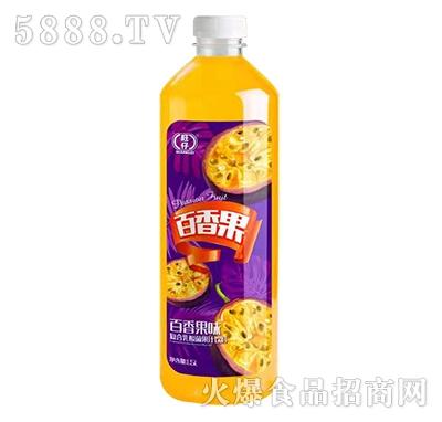 旺仔百香果味复合乳酸菌果汁1.5L