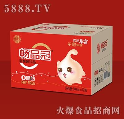 庄锦记畅品冠乳酸菌饮品340mlx12瓶