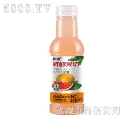 甄秀鲜酵果坊甜橙果汁饮料380g