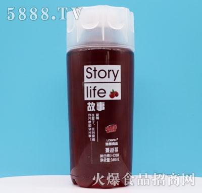 洛根良品蔓越莓复合果汁饮料360ml