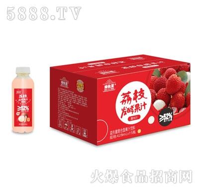 维他星荔枝发酵果汁428mlX15