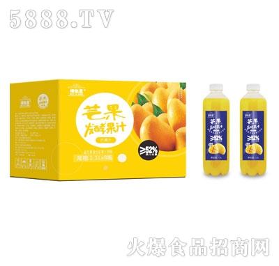 维他星芒果发酵果汁1.1LX8