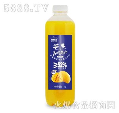 维他星芒果发酵果汁1.1L