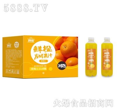 维他星鲜橙发酵果汁1.1LX8