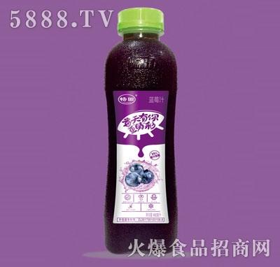 畅田蓝莓汁468ml