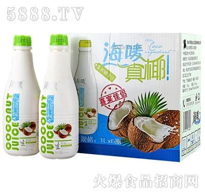 海唛生榨椰子汁1Lx6