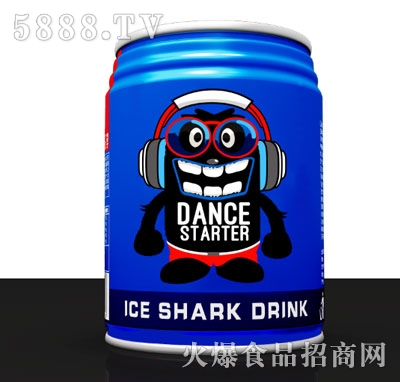 冰鲨维生素果味饮料250ml(罐装)