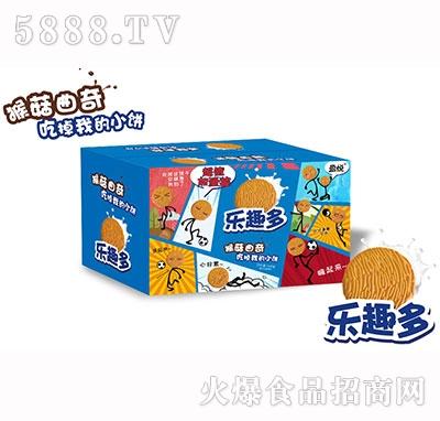 网红饼干乐趣多猴菇曲奇饼干批发-定量装休闲食品批发