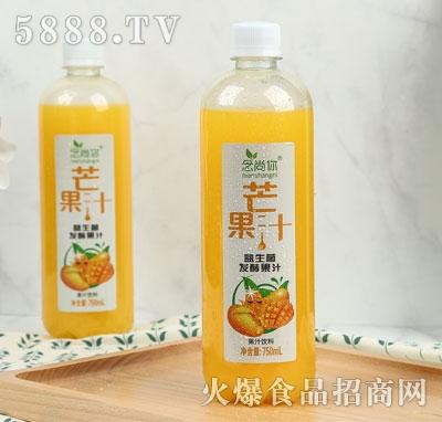 念尚你芒果汁益生菌发酵果汁750ml