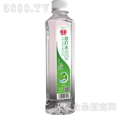 旺仔苏打水青柠味410ml