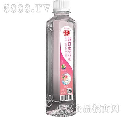 旺仔苏打水白桃味410ml