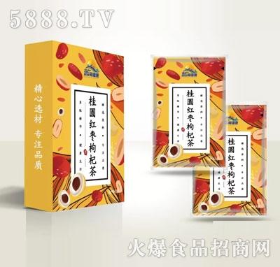 蓝海健康桂圆红枣枸杞茶