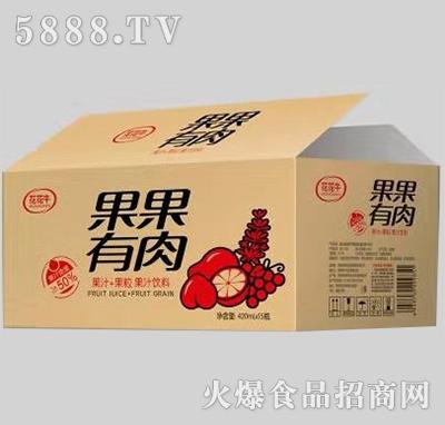 花花牛果果有肉420ml×15瓶