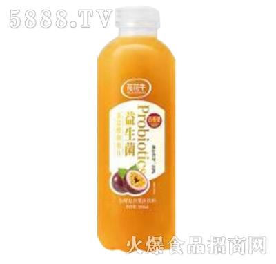 花花牛益生菌百香果发酵复合果汁饮料500ml