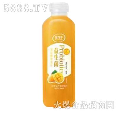 花花牛益生菌芒果发酵复合果汁饮料500ml