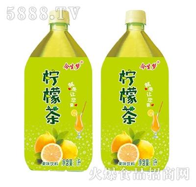 今生梦柠檬茶果味饮品1L