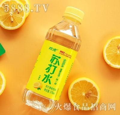 欢虎苏打水柠檬味