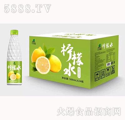 北大荒柠檬水果味饮料500ml×24瓶