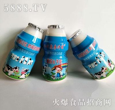 今日泉李汁源儿童成长牛奶100ml
