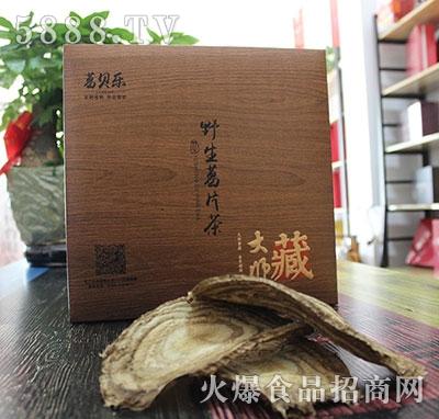 葛贝乐野生葛片茶产品图