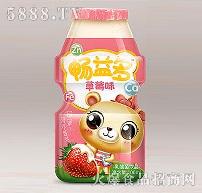 畅益多草莓味乳酸菌饮料100ml