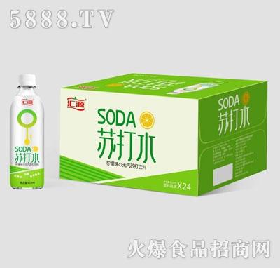 汇源柠檬味无汽苏打饮料420mlX24