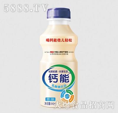 钙能乳酸菌风味饮品原味340ml