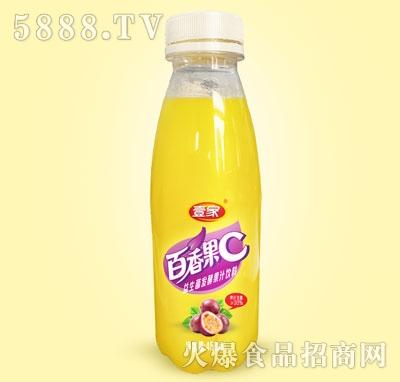 壹家百香果益生菌发酵复合果汁饮料