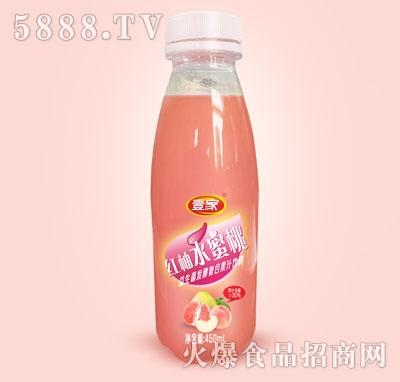 壹家红柚水蜜桃益生菌发酵复合果汁饮料