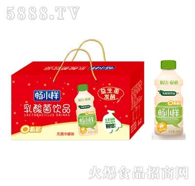 畅小样乳酸菌饮品香蕉牛奶味340ml