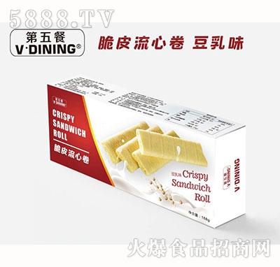 第五餐脆皮流心卷豆乳味168g产品图