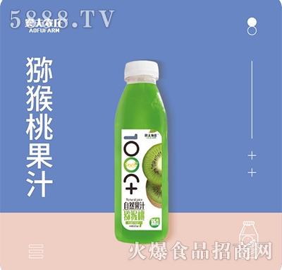 奥夫农庄猕猴桃果汁500mlx15瓶箱