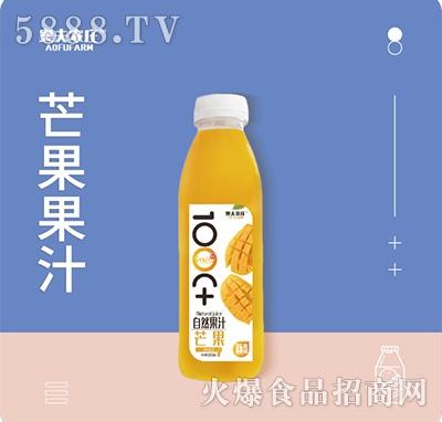 奥夫农庄芒果果汁500mlx15瓶箱