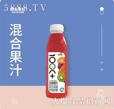 奥夫农庄混合果汁500mlx15瓶箱