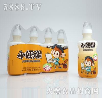 小奶猴水蜜桃味乳酸菌�品200mlX4