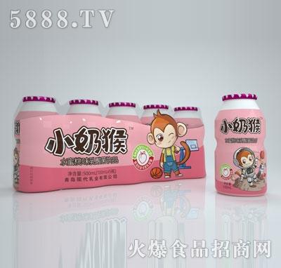 小奶猴水蜜桃味乳酸菌�品100mlX5