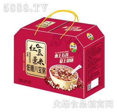 椰田红豆薏米低糖八宝粥(盒)