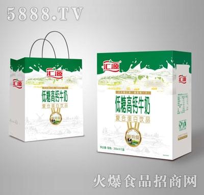 汇源低糖高钙牛奶复合蛋白饮品250mlX12