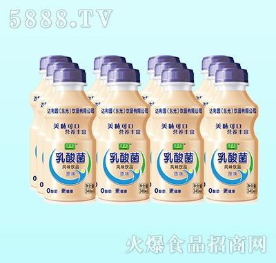 万君乐乳酸菌风味饮品原味340ml