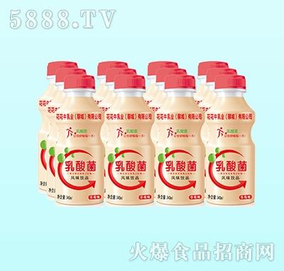 花花牛乳酸菌饮品草莓味340ml