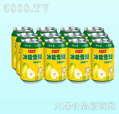 宝汁源冰糖雪梨梨汁汽水320ml
