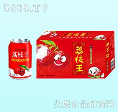 荔枝王荔枝味碳酸饮料320mlx24罐